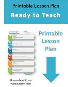 Printable Lesson Plan for Gym Class