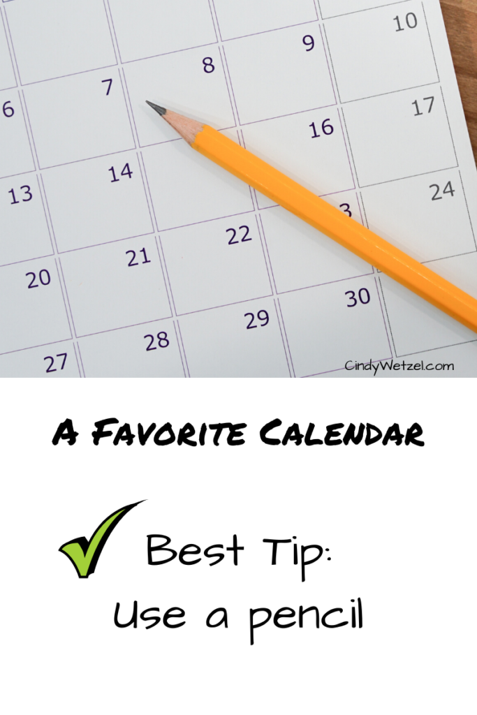 Create Your Own Homeschool Schedule and Calendar 1