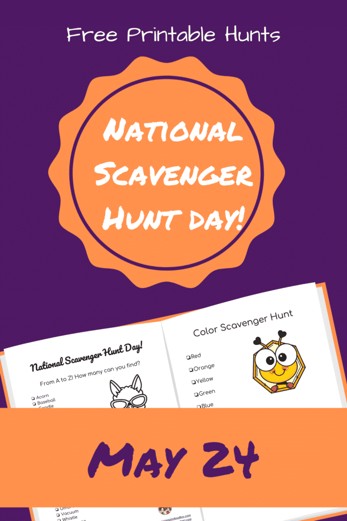 Scavenger Hunts with free printables