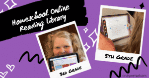 Read more about the article Do You Have a Homeschool Online Reading Library?