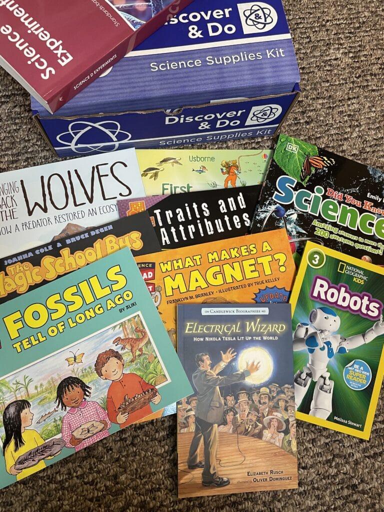 BookShark Science Level D Package